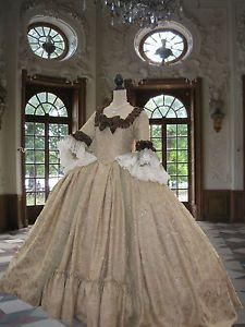 rococo dresses | ... Antoinette-dress-Georgian-Rococo-Colonial-Era-18th-century-Court-Dress