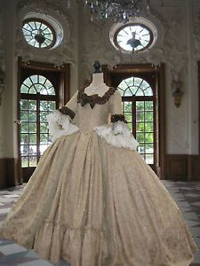 rococo dresses | ... Antoinette-dress-Georgian-Rococo-Colonial-Era-18th-century-Court-Dress