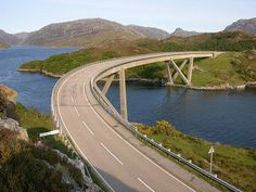 The Kylesku Bridge