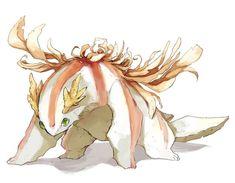 Mythical Creatures Art, Alien Creatures, Cute Creatures, Magical Creatures, Fantasy Creatures, Beautiful Creatures, Fantasy Monster, Anime Fantasy, Fantasy Art