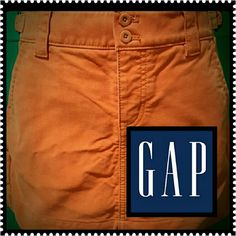 Gap Jeans Mini Skirt Cotton Fabric Ladies Skirt, Front Zip, Side Pockets,  Mint Condition GAP Skirts
