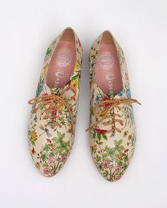 floral shoes.