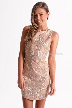premonition the elysian dress - nude | Esther clothing Australia and America USA, boutique online ladies fashion store, shop global womens wear worldwide, designer womenswear, prom dresses, skirts, jackets, leggings, tights, leather shoes, accessories, free shipping world wide. – Esther Boutique