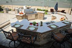 Mahaz Project Outdoor Living Areas, Living Spaces, Concrete Paving, Pool Decks, Unique Lighting, Water Features, Backyard, Building, Outdoor Decor