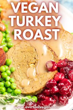 A delicious vegan turkey roast perfect for your vegan Thanksgiving dinner or vegan Christmas dinner. This easy seitan recipe has a lovely soft, tender texture and is perfect with gravy and all the trimmings! Vegan Dinner Recipes, Delicious Vegan Recipes, Vegan Dinners, Vegetarian Recipes, Vegan Christmas Dinner, Vegan Thanksgiving Dinner, Thanksgiving Recipes, Easy Seitan Recipe, Vegan Turkey
