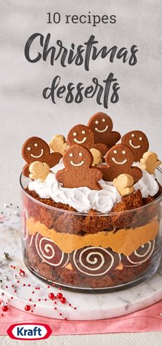 10 Christmas Desserts – Make this Christmas an especially tasty one with this family-pleasing collection of classic holiday treats. Check out our no-bake desserts if the oven's busy, or an impressive chocolate cake or cheesecake to serve at the table. Whichever recipe you choose to serve this season, you can bet it'll be a hit.