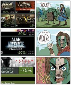 Steam Sale Valve - Getting Steamed