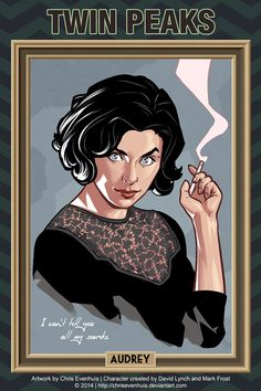 Twin Peaks - Audrey by ChrisEvenhuis