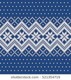 Similar Images, Stock Photos & Vectors of Christmas Sweater Design. Free Aran Knitting Patterns, Christmas Knitting Patterns, Knitting Charts, Loom Knitting, Ethnic Patterns, Textile Patterns, Scandinavian Pattern, C2c Crochet, Fair Isle Knitting