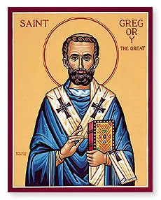 About Pope Saint Gregory (540-604)