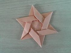 How to make an Origami Star of David (HD) – YouTub… Origami Tattoo, Origami Owl, Origami Star Box, Paper Crafts Origami, Origami Animals, Origami Hearts, Origami Boxes, Dollar Origami, Origami Flowers