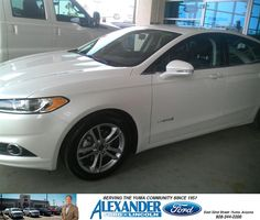 Very excited to get my new Fusion Hybred. Thanks to Jose Guerrero and Bryan Gwynn for taking care of a couple of snowbirds. - RICHARD EUGENE JOHNSON, Thursday, January 08, 2015 http://www.billalexanderford.com/?utm_source=Flickr&utm_medium=DMaxxPhoto&utm_campaign=DeliveryMaxx