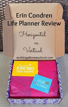 Erin Condren Review - I need one of these Life Planners!