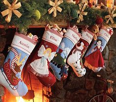 Need To Order The Babys Stocking Libby Has The Angel Brooklyn Has The