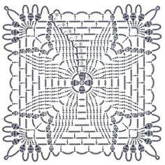 Best 12 How to Crochet a Solid Granny Square – SkillOfKing. Crochet Motif Patterns, Crochet Chart, Crochet Designs, Crochet Stitches, Knitting Patterns, Crochet Wool, Crochet Blocks, Crochet Squares, Crochet Granny