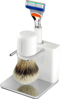 TwinLuxe Arctic Shaving Set - $1,588  http://www.luxurybarber.com/twin-luxe-arctic-shaving-set
