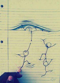 Neat drawing.