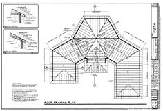 Lean To Shed, Cottage Style House Plans, Roof Detail, Hip Roof, Roof Types, Roof Plan, Construction, Autocad, Floor Plans
