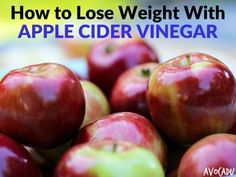 Here you will learn how to lose weight with apple cider vinegar and the many health benefits ACV has! Detox, improved digestion, and so many more!