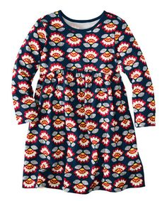 Another great find on #zulily! Navy Twilight Dress - Infant, Toddler & Girls by Hanna Andersson #zulilyfinds