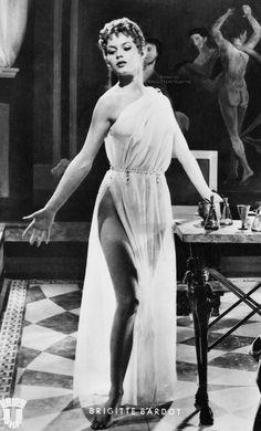 Brigitte Bardot in Elena di Troia 1956