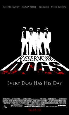 Reservoir Dogs Movie Poster by sarge134, via Flickr