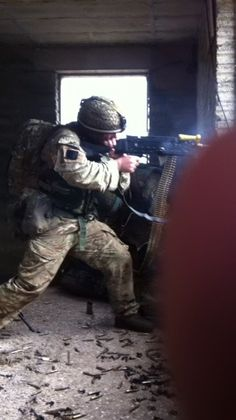 One of the lads in the parachute regiment