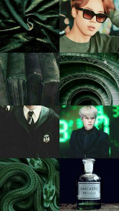 Jimin in Slytherin