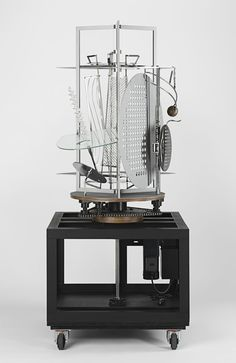 Light Prop For An Electric Stage, 1930. Exhibition Replica, Constructed In 2006, Through The Courtesy Of Hattula Moholy-Nagy.