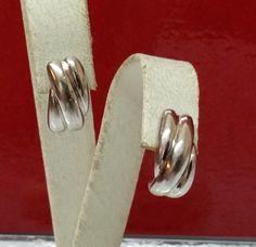 Vintage Ohrstecker - Ohrringe Ohrstecker Silber 925 Vintage 60er SO133 - ein Designerstück von Atelier-Regina bei DaWanda
