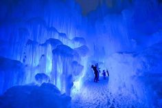 This winter, Ice Castles, LLC will bring its popular winter attraction to Canada for the first time as it unveils a massive castle made of ice in Edmonton. The acre-sized winter wonderland is crafted by hand, using only icicles and water, and. Midway Utah, Winter Christmas Scenes, Eden Prairie, Ice Castles, Ice Sculptures, Media Images, Event Calendar, Winter Wonderland, Places To See