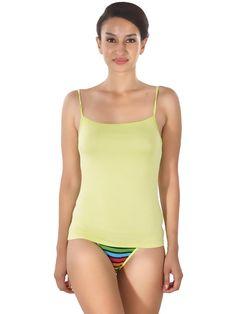 Shyle Green Waist Length Camisole