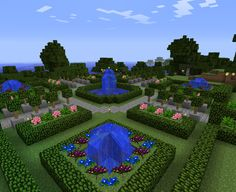 minecraft gardens - Google Search