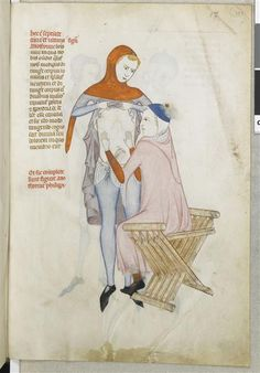 Guy de Pavie, Traité d'anatomie en latin (XIVe siècle), Chantilly, Musée.