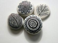 Dibujo en piedra