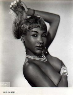 Vintage African american performers | Lotti The Body