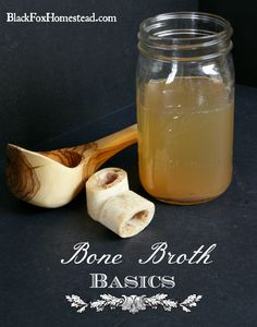 Bone Broth Basics How to make proper bone broth, why you should, and tips for success. Every homestead should have some bone broth kicking.
