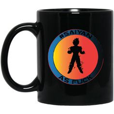 Now Available on Our Store #Saiyan AF B11B C... Get it Now!!  http://tudedays.myshopify.com/products/saiyan-af-b11b-custom-personalized-11-oz-black-mug?utm_campaign=social_autopilot&utm_source=pin&utm_medium=pin