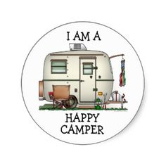 Cartoon Camping Trailers | Camping Cartoon T-Shirts, Camping Cartoon Gifts, Artwork, Posters, and ...