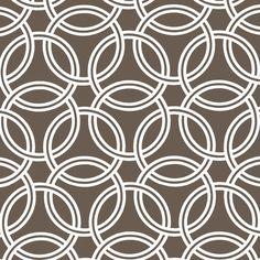 WS5726 swirl trenna travis wide cotton sateen bekko collection geometrics brown chocolate coffee