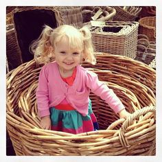Trying out the wicker baskets #norfolkshow #wicker #baskets #beautiful #smiles #lovemydaughter - by @cdguyton74   liked by the Wicker Blog!