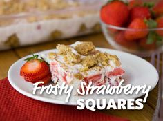 foodlion com frosty strawberry squares these frosty strawberry squares ...