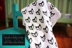 Stamped Fox Blanket
