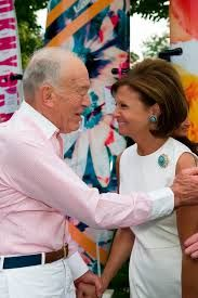 Leonard and Laura Slatkin at the Perry's summer fundraiser for BCRF!