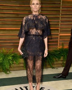 Actress Diane Kruger - Normally love her, but not when she is wearing fly screen.