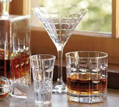 LIBRARY BARWARE from Pottery Barn