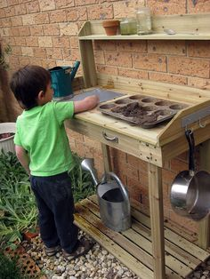 mud+kitchens+for+kids | Mud kitchen so want to do this for the kids