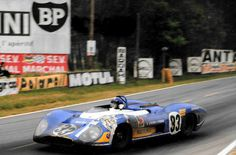 Piers Courage / Jean-Pierre Beltoise - Matra MS650 - Équipe Matra ELF - XXXVII Grand Prix d´Endurance les 24 Heures du Mans - 1969 International Championship for Makes, round 8 - Championnat de France des Circuits (round 40 - Challenge Mondial, round 4