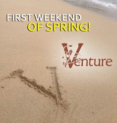 First weekend of spring! Give a toast to the new season & enjoy a glass. #wine #spring http://www.venturewines.com/