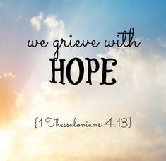 1 Thessalonians~Hope